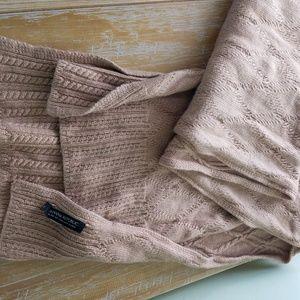 Tan/camel color banana republic scarf